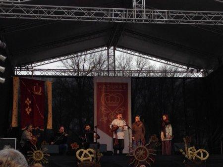 Выступление Аринушки на традиционной ярмарке Св. Казимира
