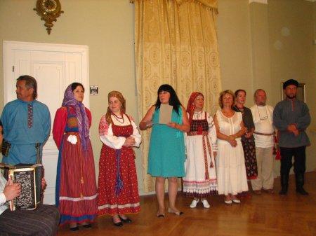 """Заключительный концерт  школы """"Традиция"""" в Музее янтаря"""