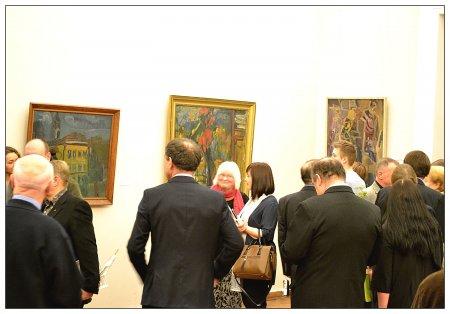 В Вильнюсской ратуше открылась выставка работ художников Литвы «Беспокойное путешествие»