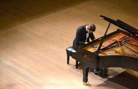 Концерт Андрея Гугнина (фортепиано), победителя международного конкурса пианистов в Сиднее.