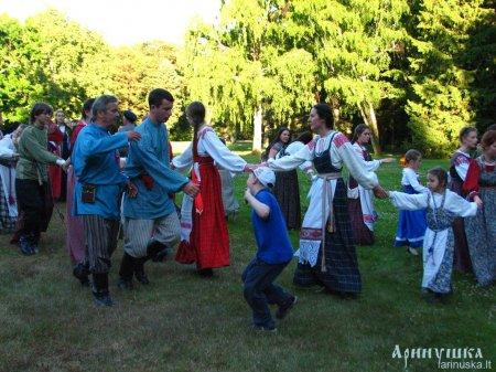 XVIII международная летняя школа - фольклорный лагерь «ТРАДИЦИЯ» в Паланге