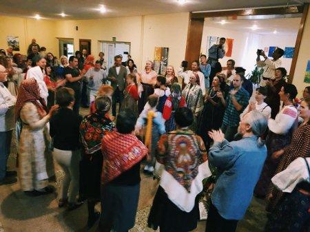 Открылась XVIII международная летняя школа - фольклорный лагерь «ТРАДИЦИЯ»