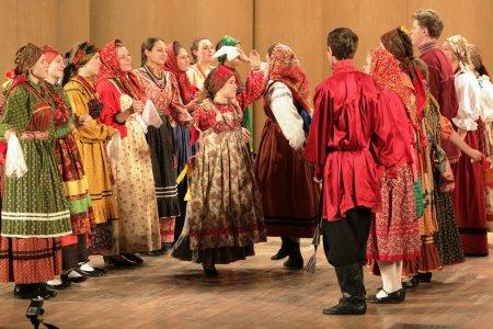 Rusijos Gnesinų muzikos akademijos folkloro ansamblis (Maskva, Rusija) | Rengėjų nuotr.