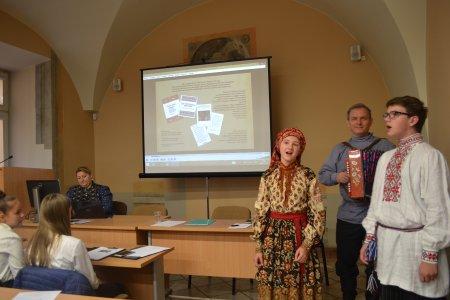 Конференция юных фольклористов