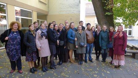 Посещение студентами и педагогами Санкт-Петербургской консерватории кафедры этномузыкологии Литовской академии музыки и театра